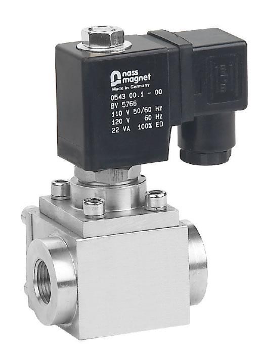 High pressure solenoid valve plastic china